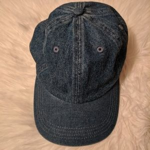 , denim hat